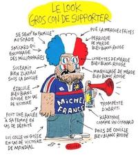 Le supporter français à son plus haut niveau!