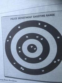 Stand de tir de la police américaine
