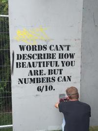Aucun mot ne peut décrire à quel point tu es belle...