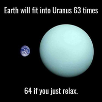 Earth in Uranus