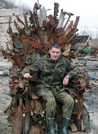 Le trône de fer rouillé