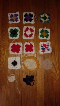 L'évolution du tricotage chez une femme avec alzheimer
