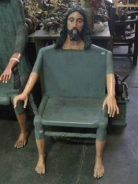 Viens t'asseoir sur Jésus