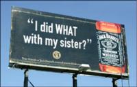 Publicité Jack Daniel's