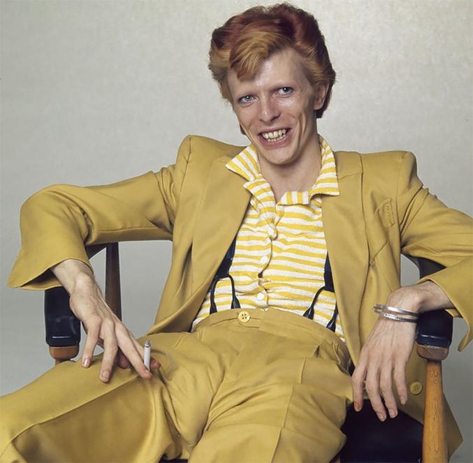Dans tous les sens du terme - Photo prise en 1974 par Terry O'Neil.