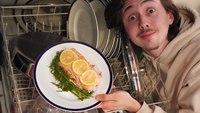 Saumon cuisiné au lave-vaisselle