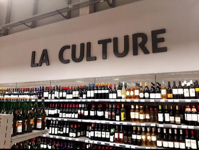 Quand j'entends le mot culture, je sors mon verre à vin.