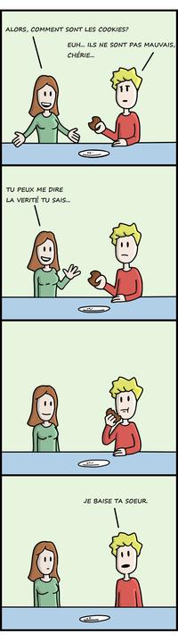 Comment sont les cookies ?