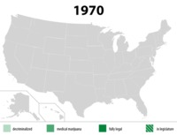 Les USA et le cannabis