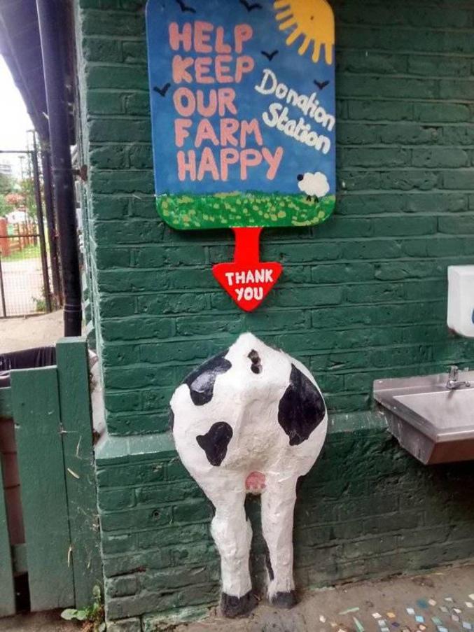 Pour permettre à une ferme de rester joyeuse.