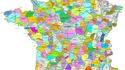 Carte des pays français