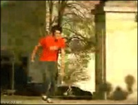 Salto sur skate