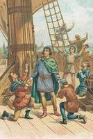1492 - Christophe Colomb rétablit le Wifi sur le bateau