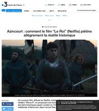 """Comment le film """"Le Roi"""" (Netflix) piétine allègrement la réalité historique"""