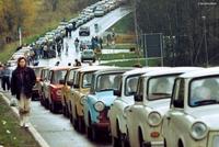 La migration des Trabants en 1989