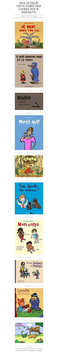 Des livres pour enfants