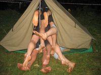 La crise du camping