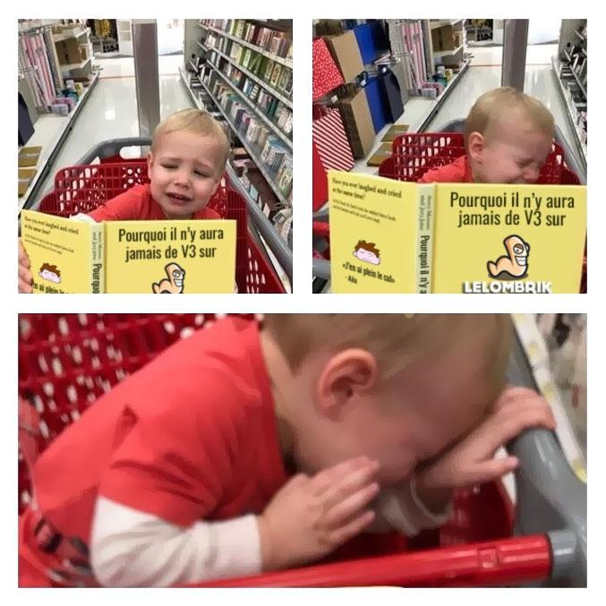 Un coup à traumatiser son gamin ça...