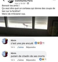 Kevin n'aime pas les citadins