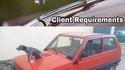 Demande client