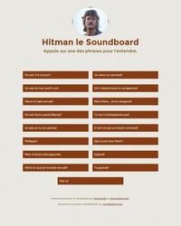 Hitman, le soundboard