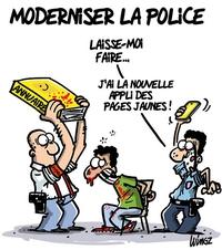 Moderniser la police