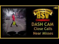 Dash cams où l'accident est évité de justesse (2ème partie)