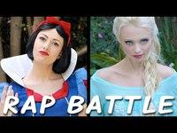 Battle rap entre blanche neige et la reine des neiges !