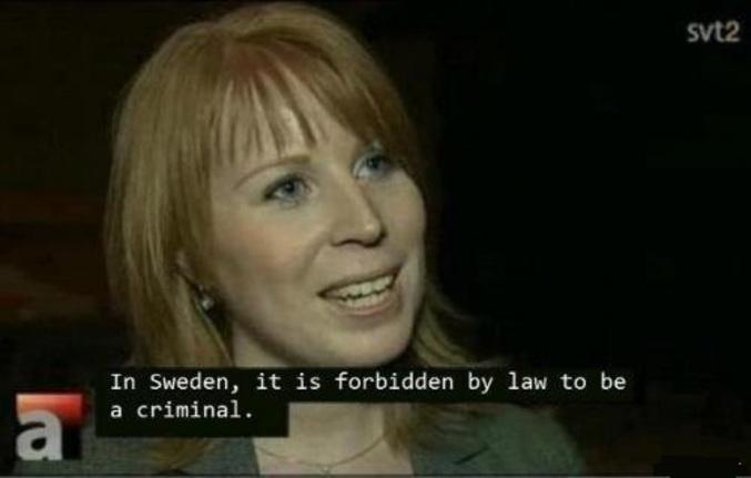 Les crimes sont illégaux.