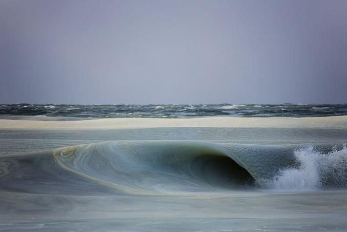 Photo prise sur la côte de Nantucket, à l'est des USA, par Jonathan Nimerfroh.