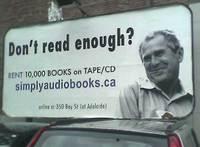 Don't read enough ?