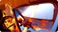 Rarissime: Crash d'avion en plein ciel