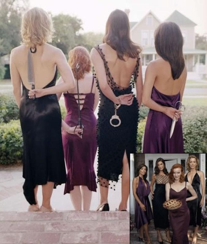 La face cachée de ces 4 femmes de la célèbre série Desperate Housewives.