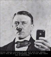 Hitler et son iPhone