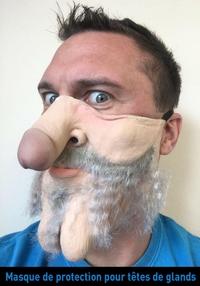 Masque de protection pour têtes de glands