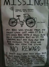 Recherche mon vélo