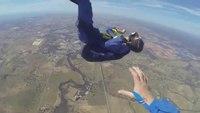 Crise d'épilepsie pendant un saut en parachute