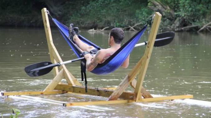 Kayak + hamac = kayhamac