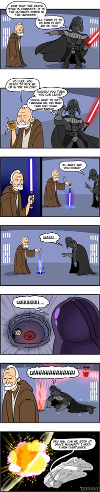 Si Obi Wan n'avait pas été con...