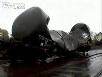 Implosion d'un wagon