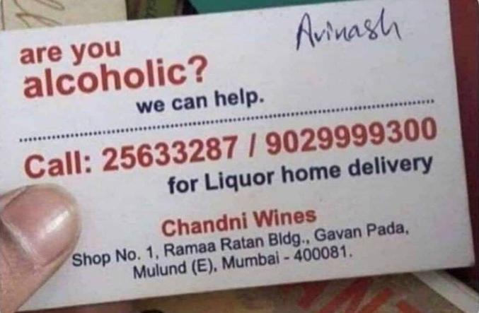 Homéopathie : Vous êtes alcoolique, on peut vous aider... livraison d'alcools à domicile.
