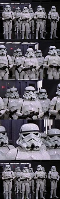 Stormtroopers tenso