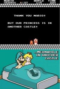 La princesse est dans un autre château.
