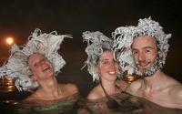 """Gagnants du concours : """"Hair Freezing Contest""""."""
