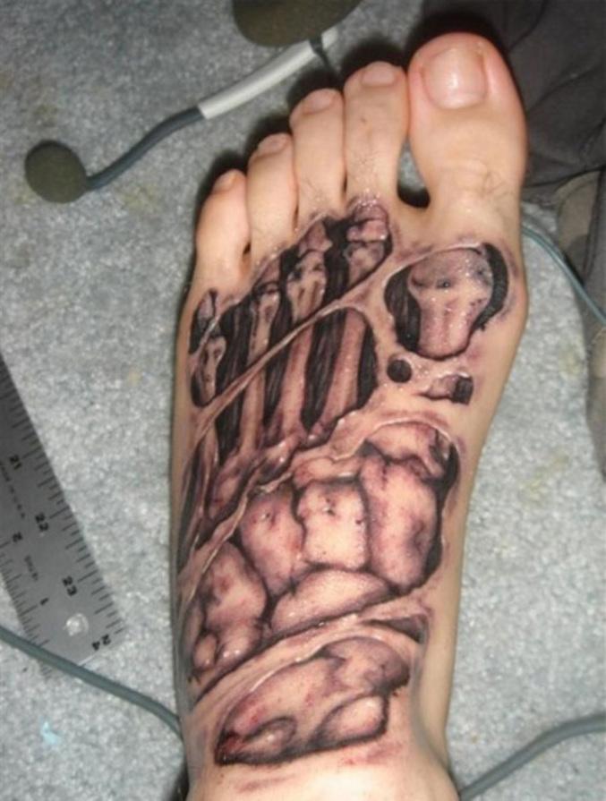 Tatouage Zombie