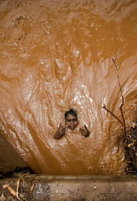 Un petit bain de boue