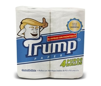 Papier toilette Trump commercialisé au Mexique