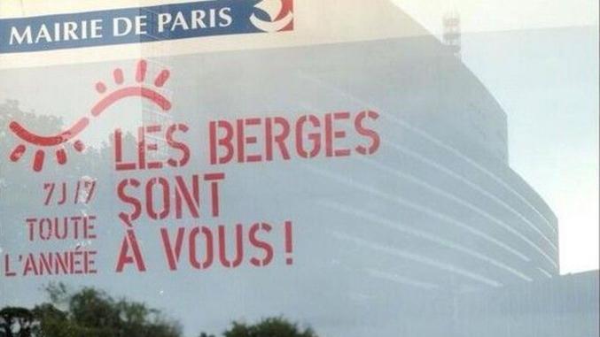 Offerte par la mairie de Paris