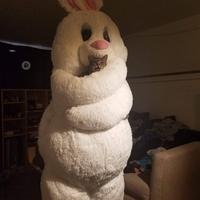 Le lapin de Pâque a attrapé un petit fdp