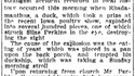 Un canard mange de la levure, cancane et explose ; un homme perd la vue
